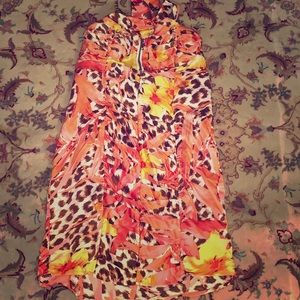2be cute silky colorful dress